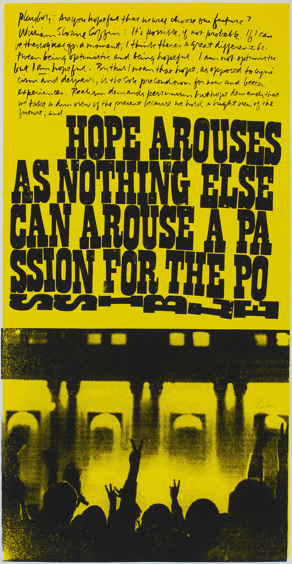 a passion for the possible (1969)