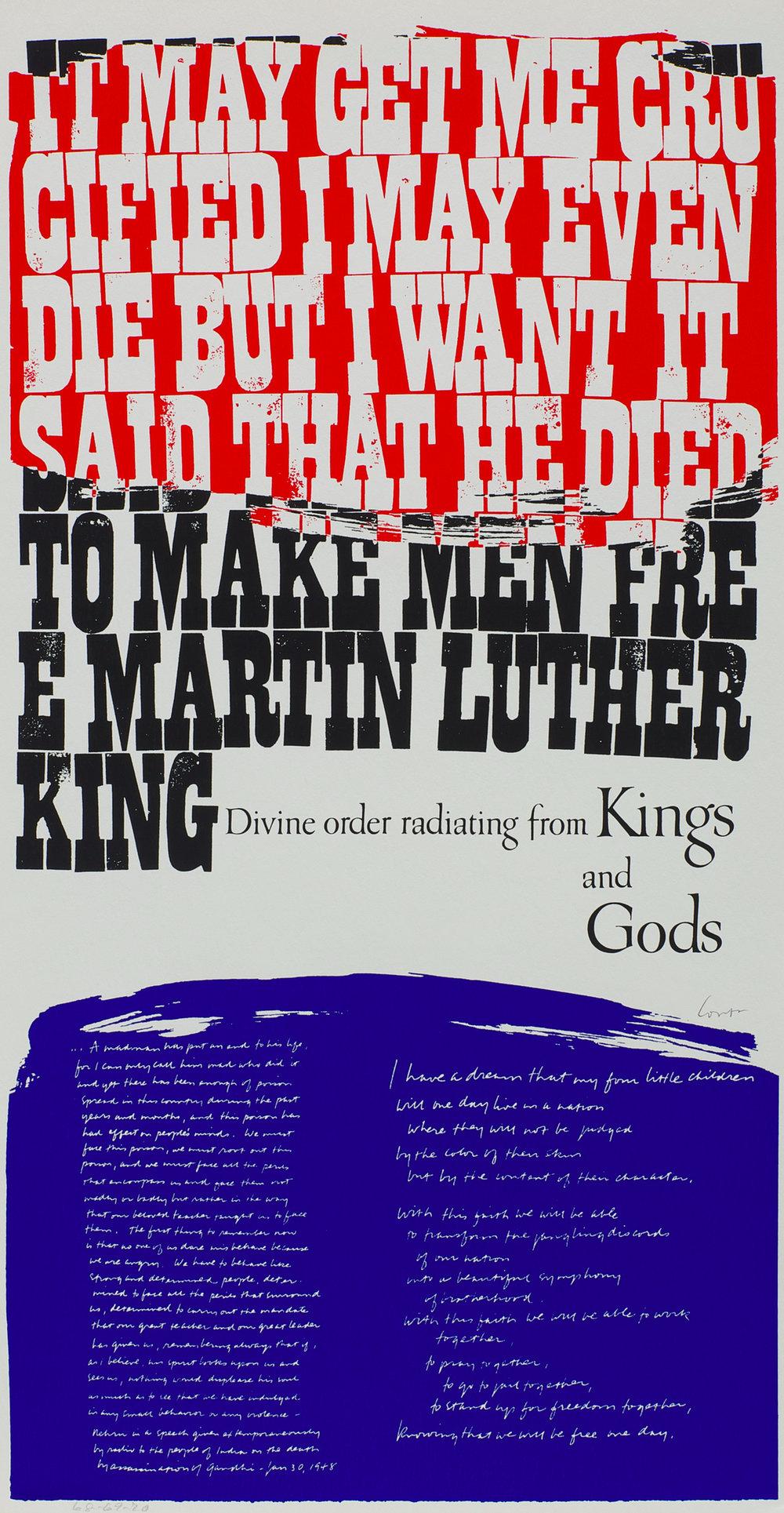 """king""""s dream (1969)"""