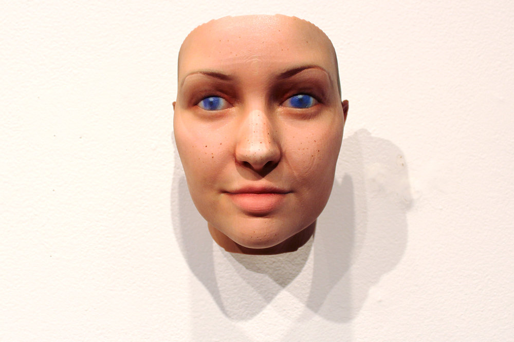 Heather Dewey-Hagborg,  Stranger Visions , 2012-2013 Found Genetic Materials, Custom Software, 3D prints
