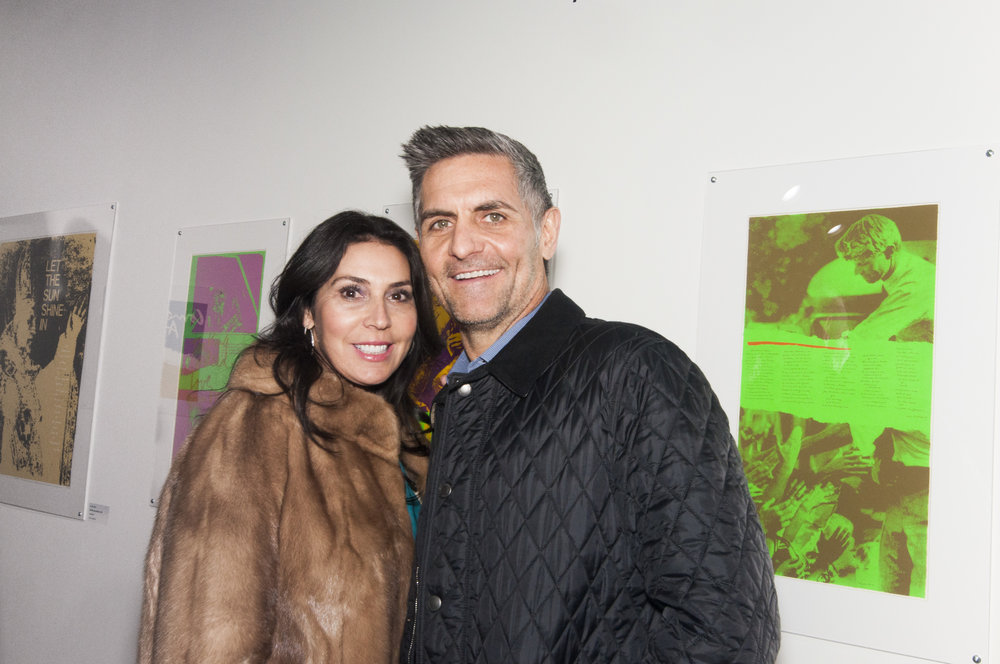 Letal and Shawn Skelton at Corita Kent VIP Opening (2017)