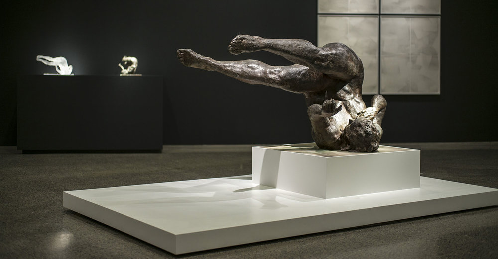 Eric Fischl, Tumbling Woman,  Bronze 2002   r endering the unthinkable  , 9/11 Memorial
