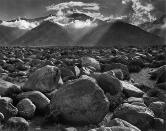 Mount Williamson, Sierra Nevada, from Manzanar, California  (1944)   On View