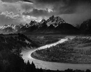 The Grand Tetons and the Snake River, Teton National Park, Wyoming (1942)    On View