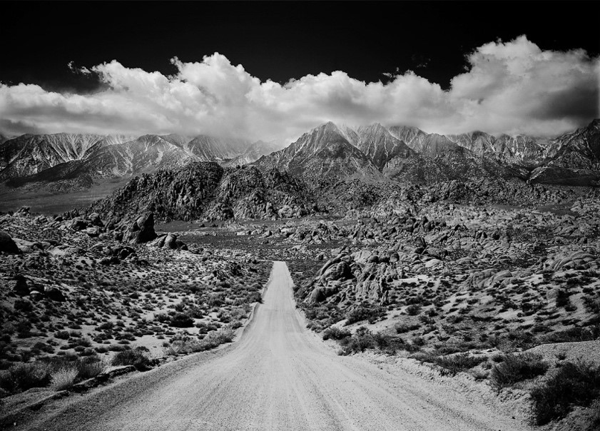Larry Janss,  Mount Whitney from the Alabama Hills, Lone Pine, CA  (2010)   On View