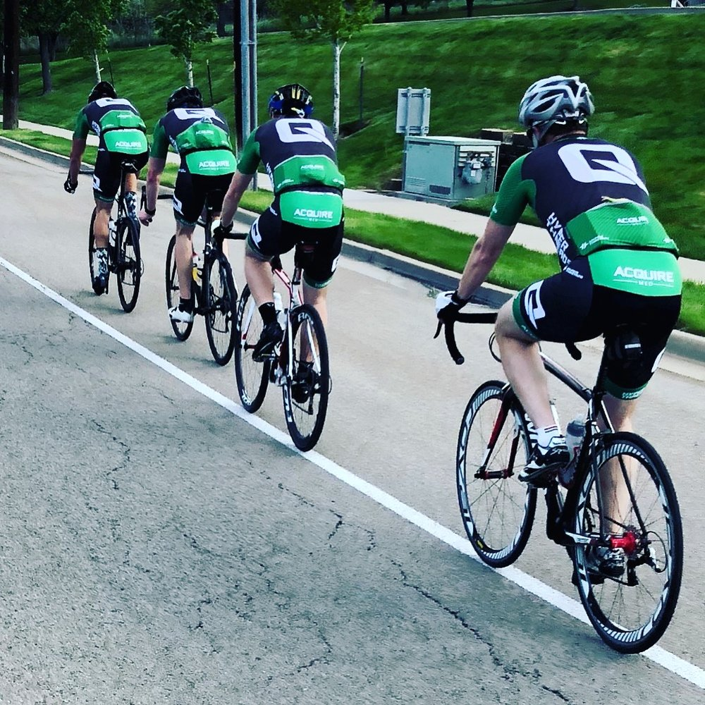 - ACQUIRE MED CYCLING CLUBAcquire Med cycling club was established in 2017 and consists of 35 riders from Utah, Idaho, and Arizona. We have a road bike club and a mountain bike club. Anyone can join Acquire Med Cycling Club. If you are interested in joining, please fill out the form to the right.