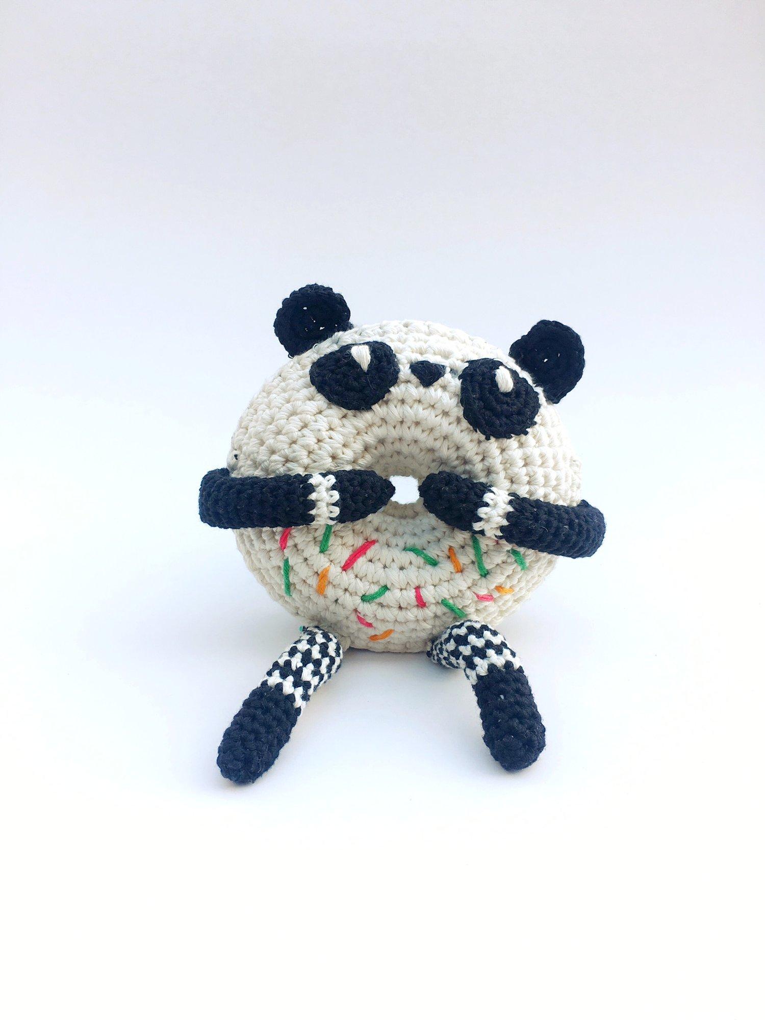 Pan Pan Panda Crochet Donut Doll — Flamingpot