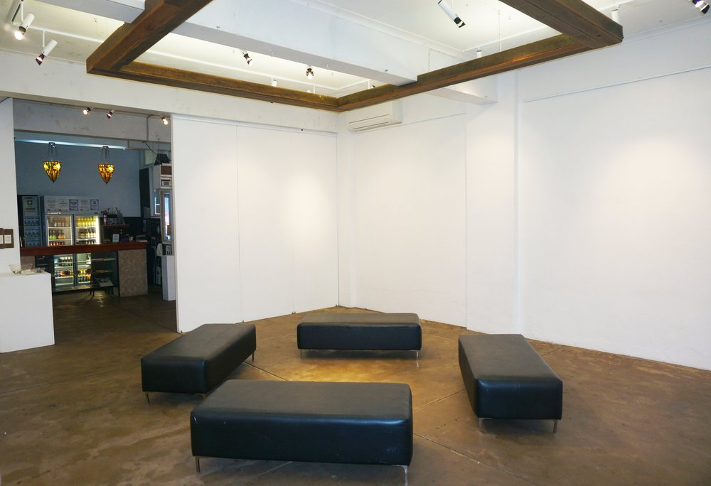 DOWNSTAIRS EXHIBITION SPACE