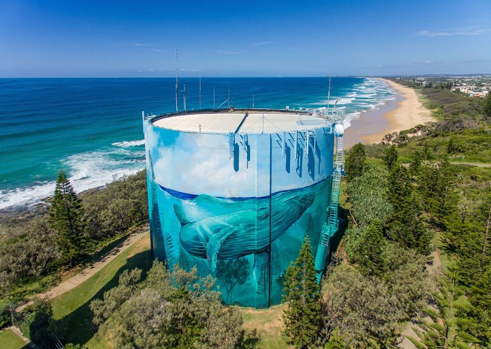 Point Cartwright Water Tower (Unitywater) March 2016
