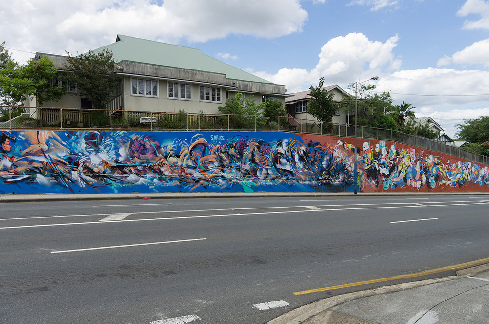 Milton Road, Brisbane (BCC Walls & Colours Project) 2014