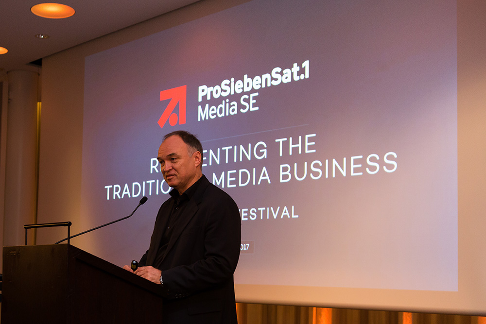 Thomas Ebeling (ProSiebenSat.1 Media SE) Reinventing the Traditional Media Business