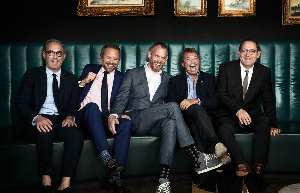 John Lesher (Le Grisbi Productions), Thorsten Schumacher (Rocket Science), Roeg Sutherland (CAA), Patrick Wachsberger (Lionsgate Motion Picture Group), Michael Barker (Sony Pictures Classics) (f.l.t.r)