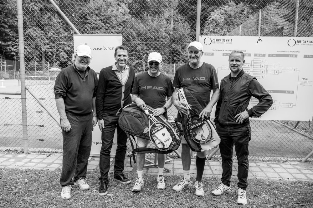 The Winning Team, Charity Tennis Tournament