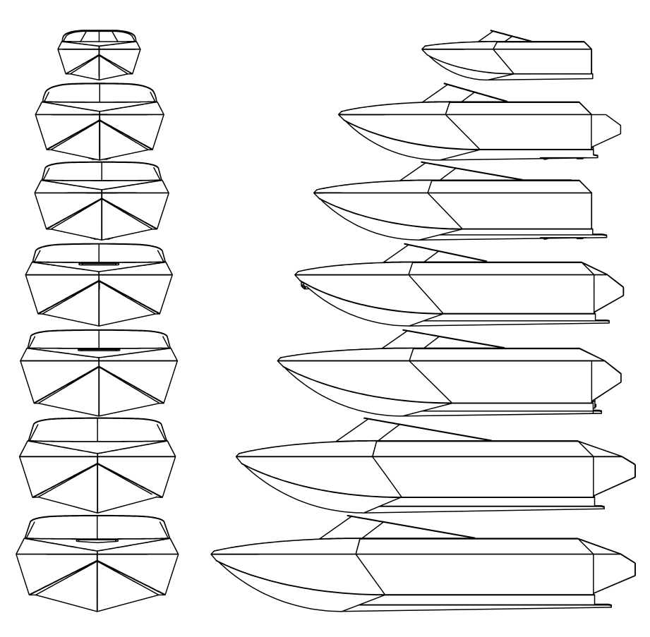 Pick a hull size -