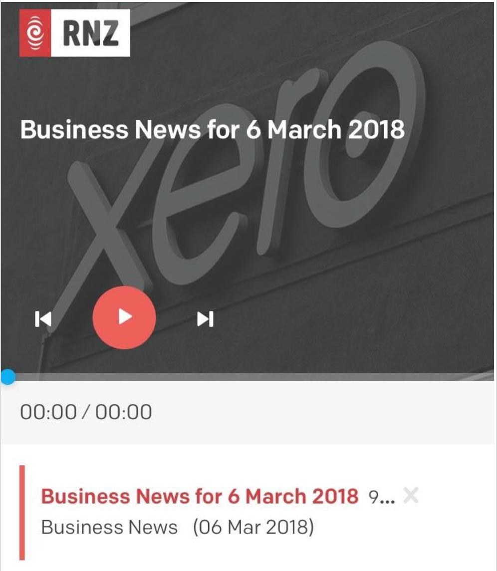 WattsCraft on RNZ's Business news