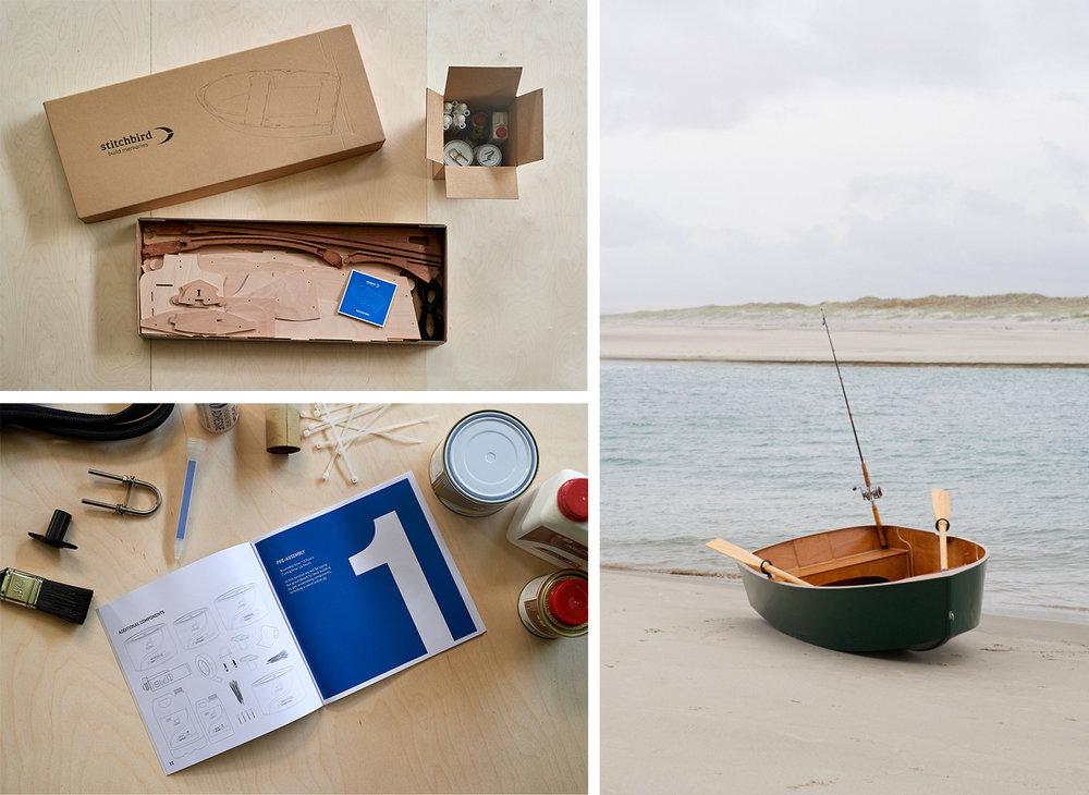 Stichbird Boat Co - kit-set wooden boats