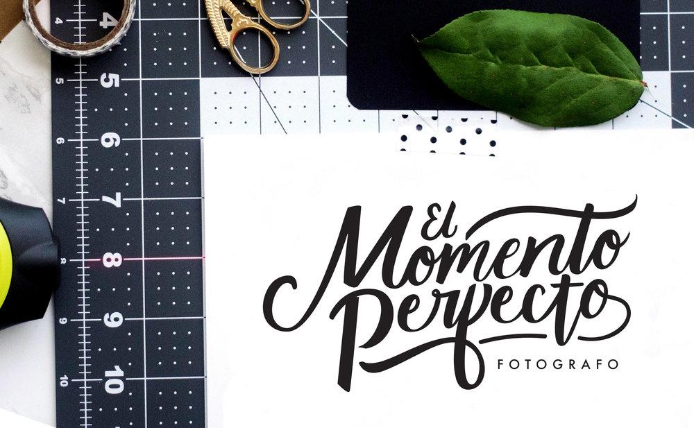 Modern Handlettered Logo