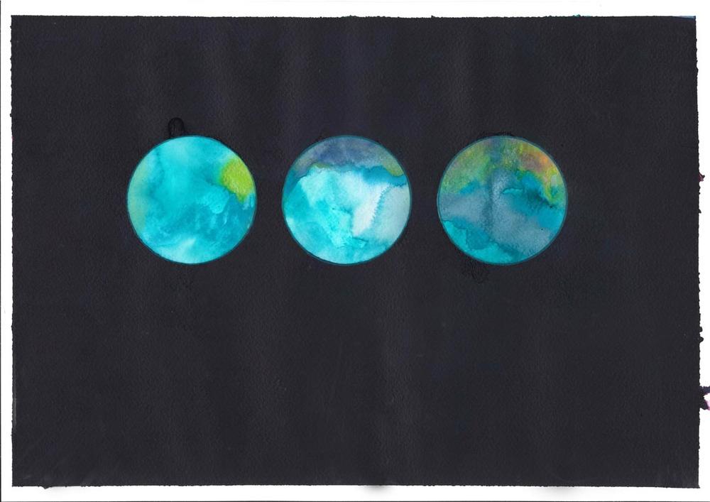 Reflector Triptych II