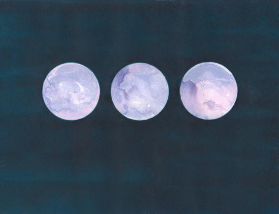 Reflector Triptych VI