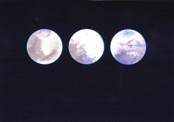 Reflector Triptych XI