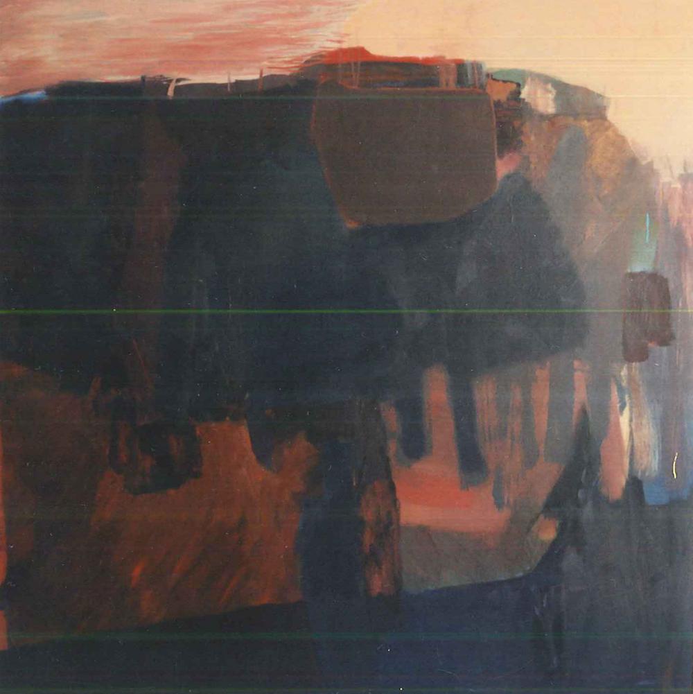 Untitled (umber landscape)