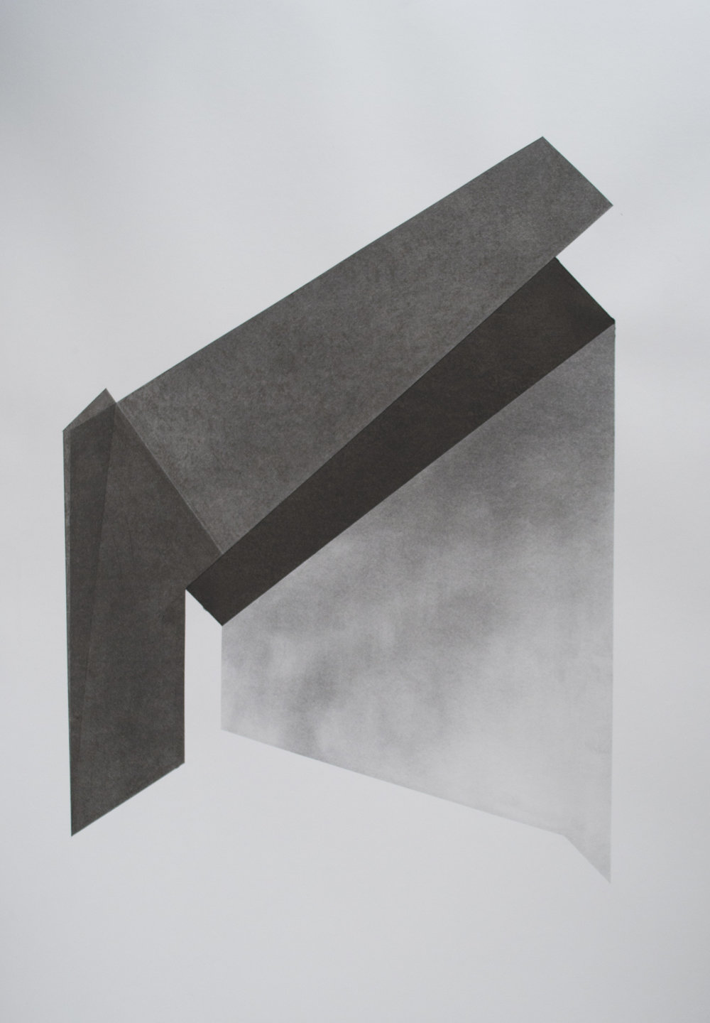 Domestic geometry 2 charcoal on 300gsm paper Copyright Patrick O'Donnell.jpg