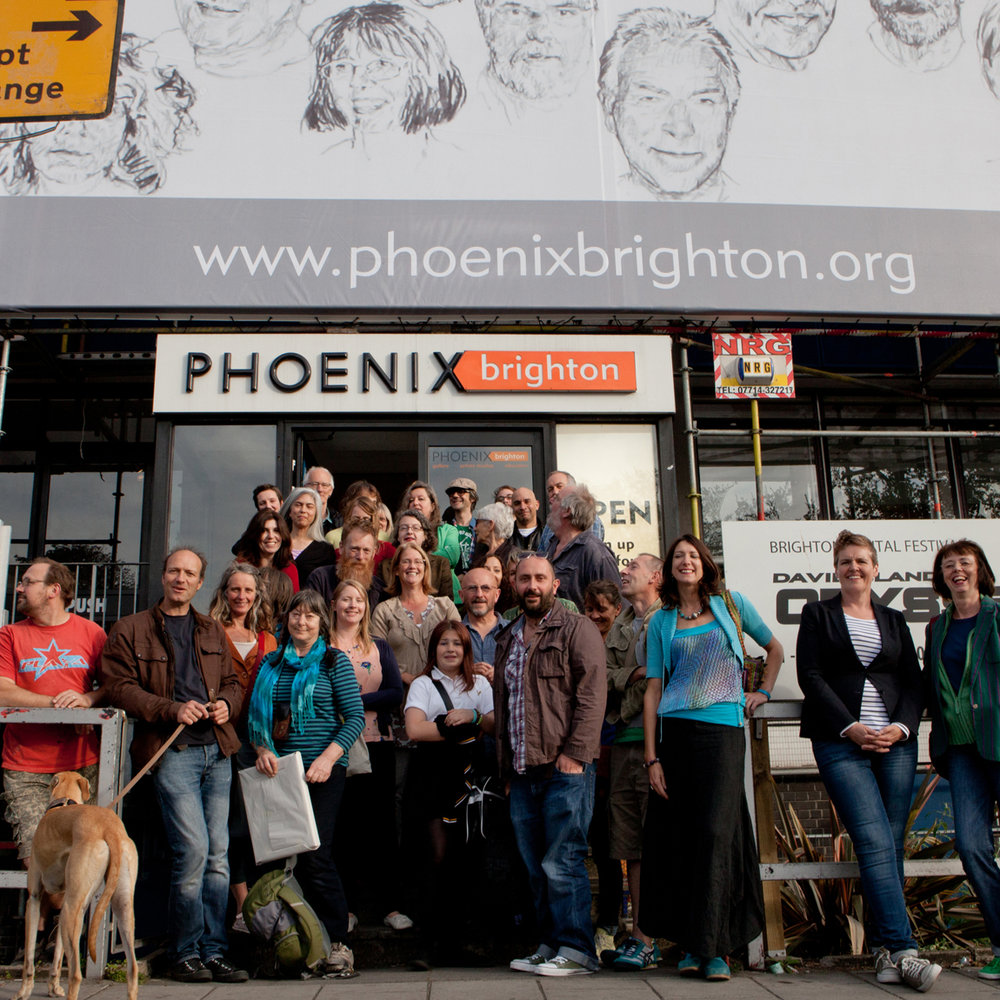 Phoenix artists under Portrait of the artist - the face behind the facade.jpg