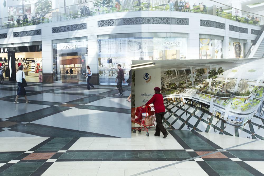 Zlote Tarasy Mall