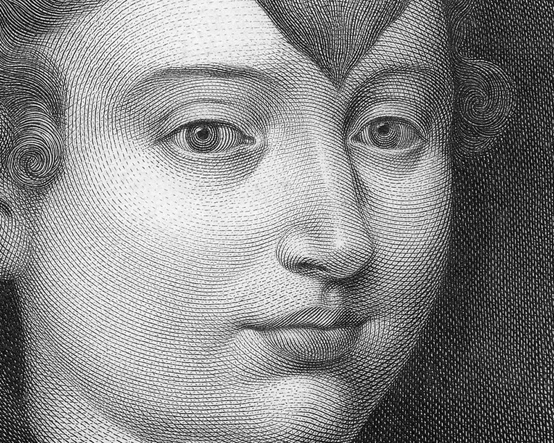 Caterina Cornaro, Queen of Cyprus - engraving