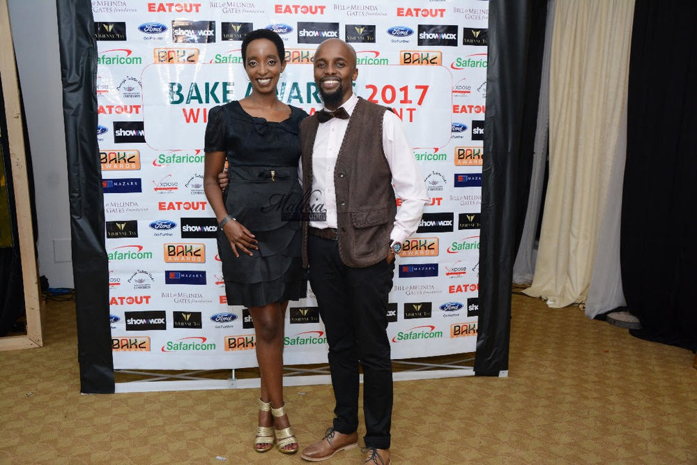 With Wambui J. Lamu, founder of Hairpolitan Magazine, another BAKE Awards nominee.  Picture courtesy of Malaika Photography.