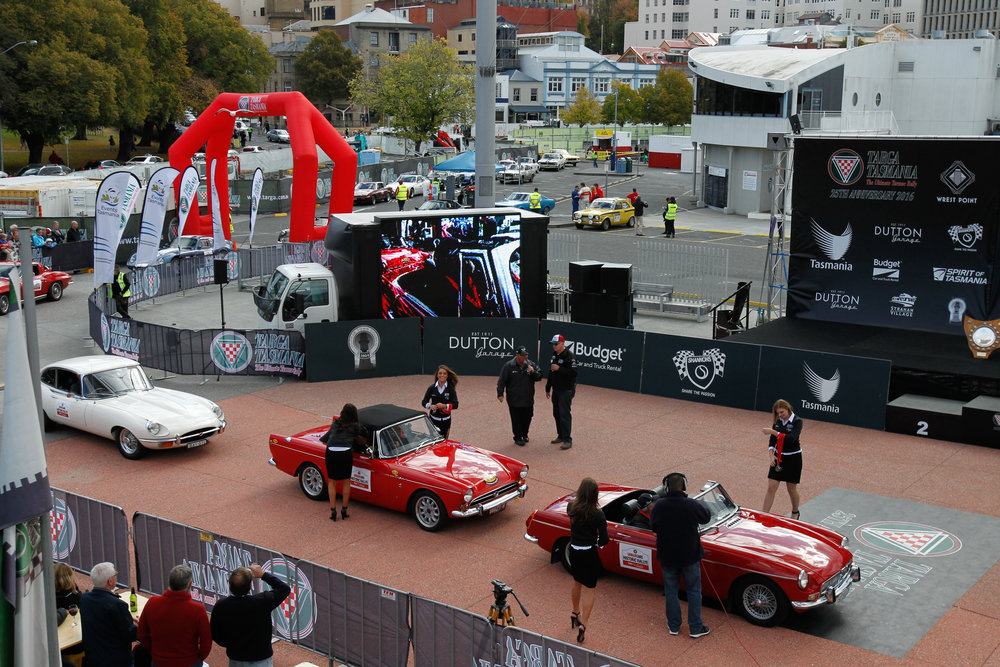 X-1R Entry TARGA TASMANIA FINISH LINE 2016