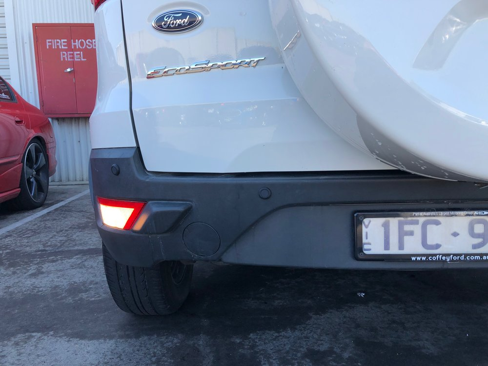 FORD EcoSport with PARKSAFE 19.5mm Rubber Sensors