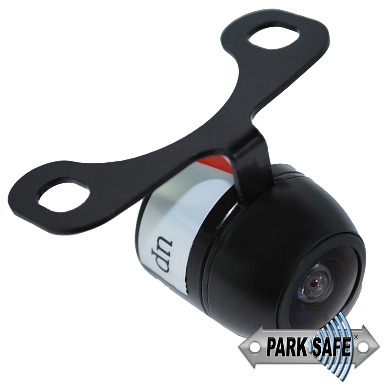 NOTE: 26-046PAL Also Available  * Also Suitable for Bumper mounting  * 170 Degree View Angle  * Available as NTSC or PAL  * Lux 0.1  * Switchable Guide Lines & Mirror Image  * Voltage 9.6-12 Volts DV  * water Resistant IP68  * Size L20 x W17 x H17mm