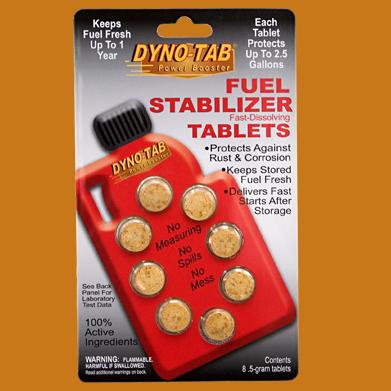 Fuel preserving Tablets