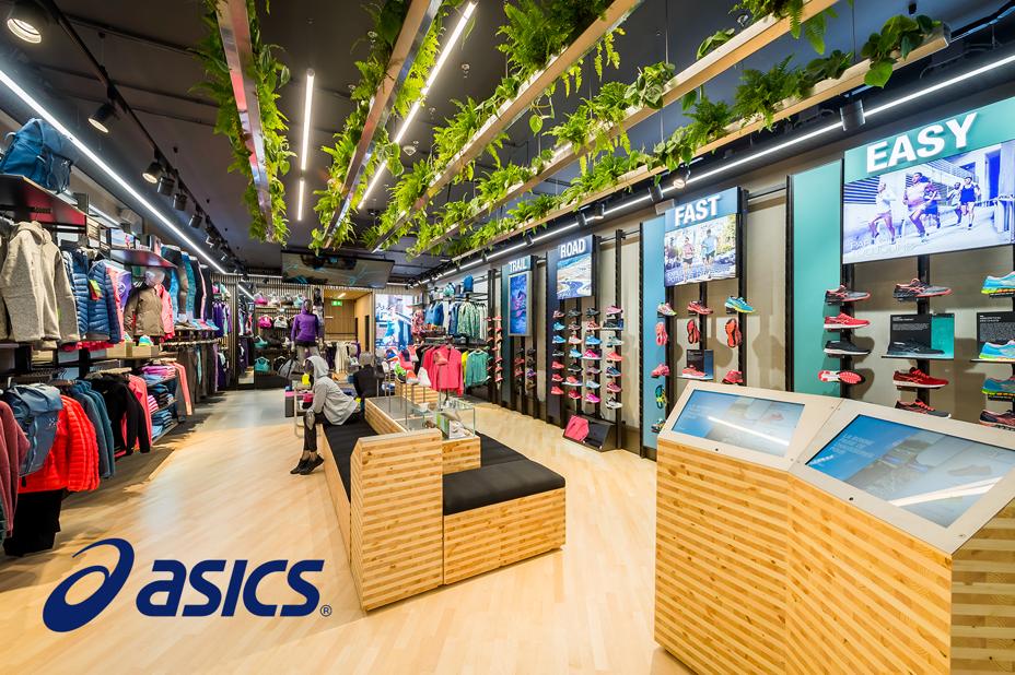 Asics, Sportswear, Visual Merchandising Software, Retail Planning