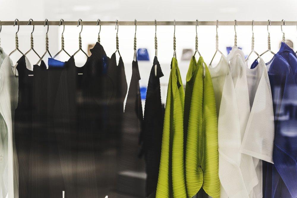 musterkollektionen, showroom, einzelhandel