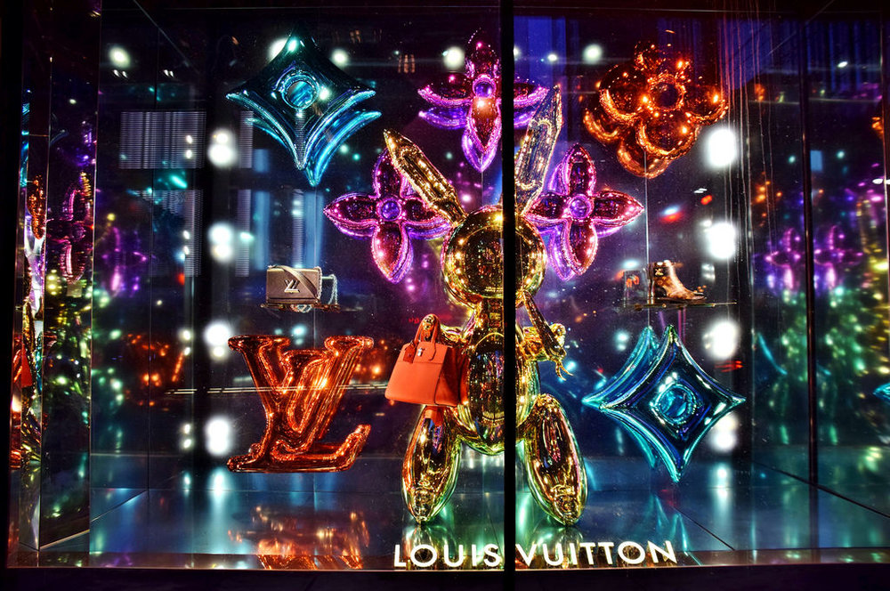 Louis Vuitton, Saks Fifth Avenue, New York