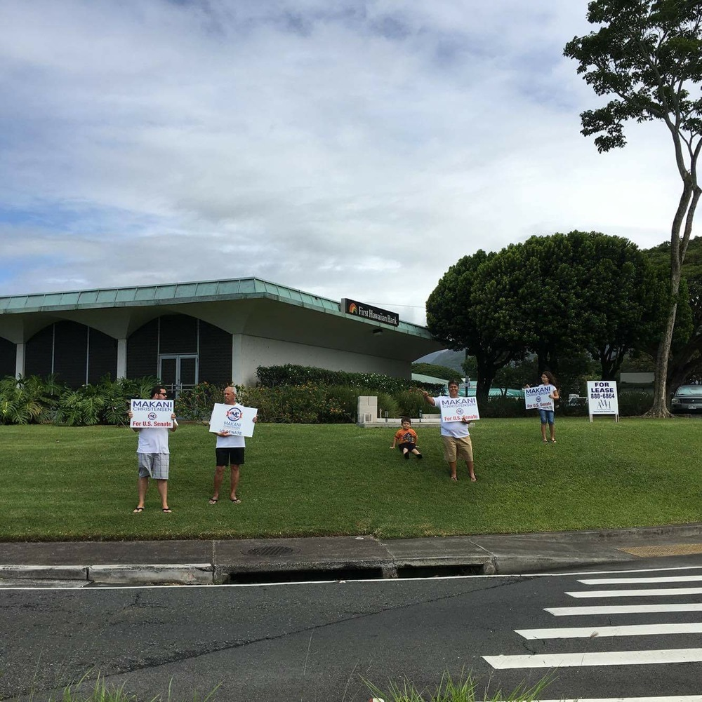 Sign waving kaneohe.JPG