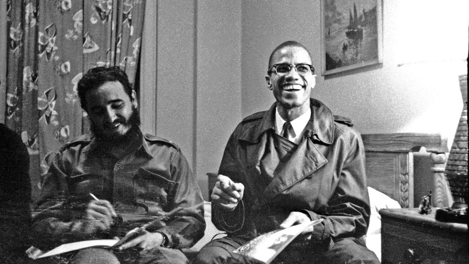 Young revolutionaries: Fidel Castro and Malcom X