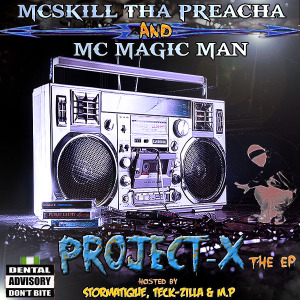 Project-X [EP] (2013) by McSkill ThaPreacha.jpg