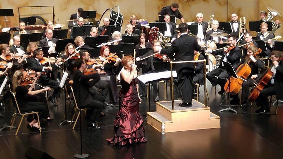 With the La Crosse Symphony conducted by Alexander Platt