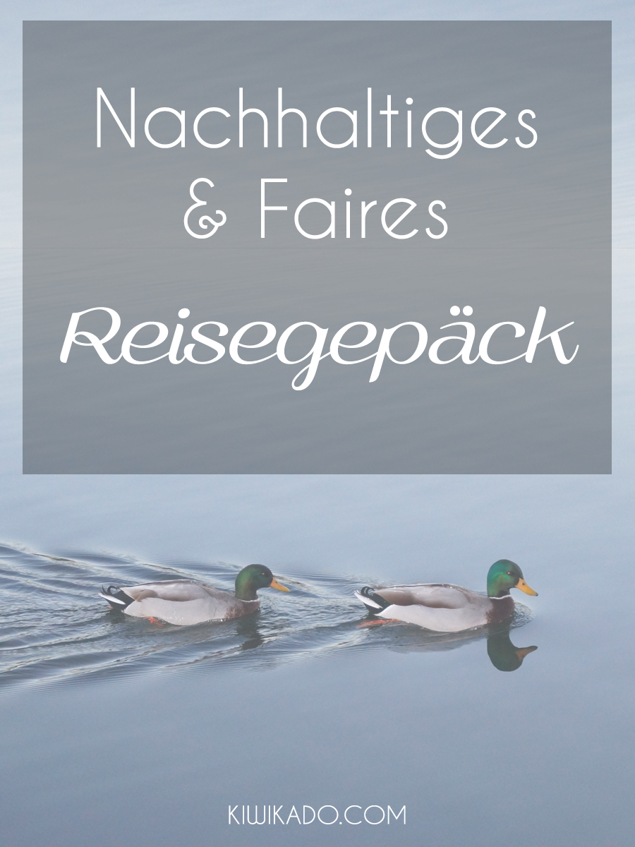 Reisegepäck nachhaltig