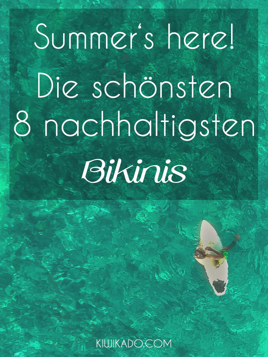 Nachhaltige Bikinis