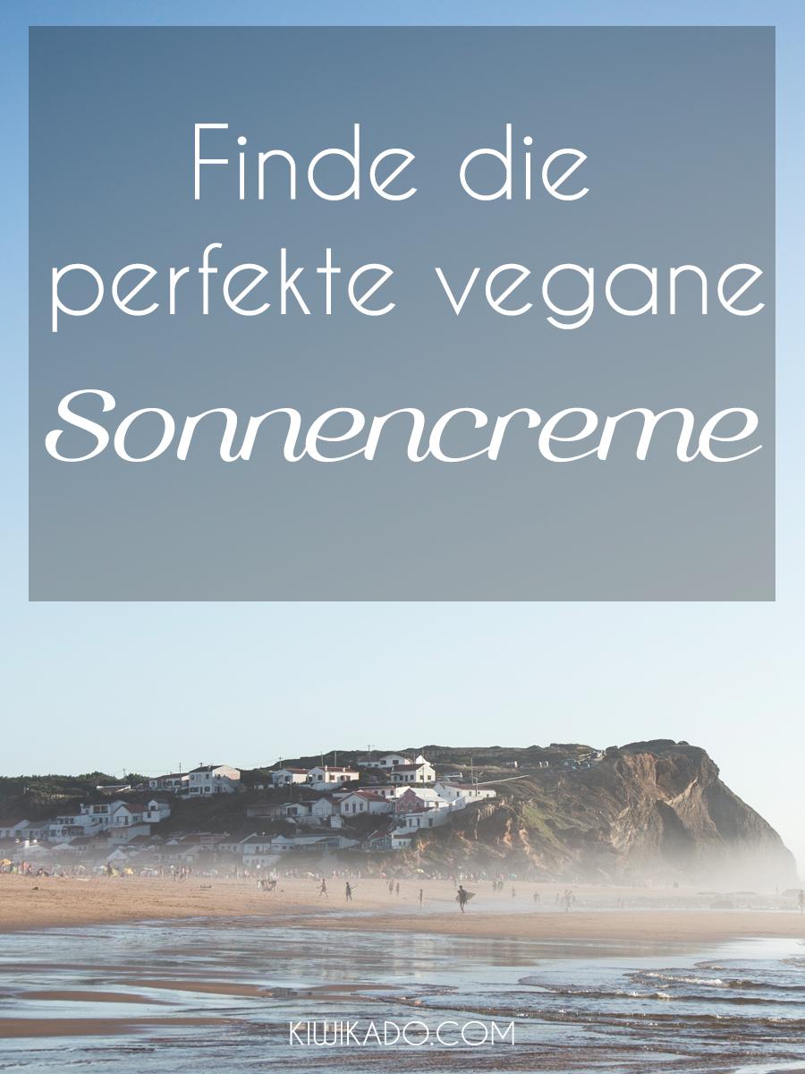 Vegane Sonnencreme