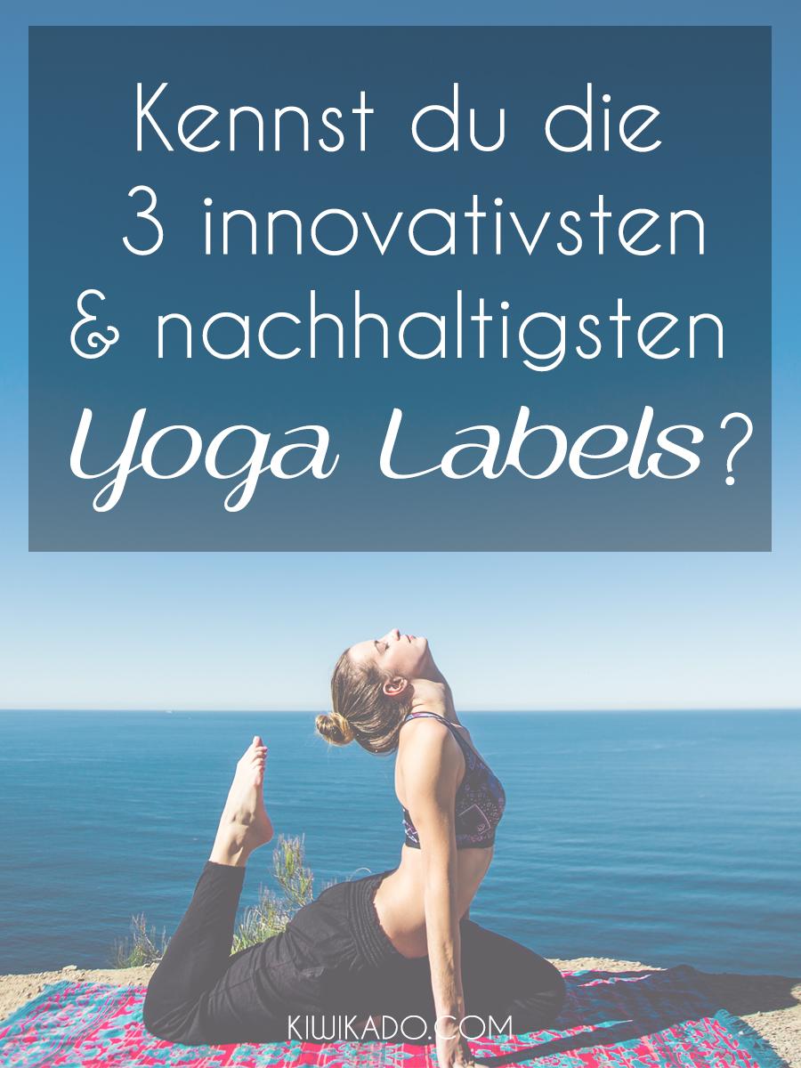 Nachhaltige Yoga Labels