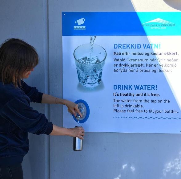 Wasser abfüllen und Plastik vermeiden