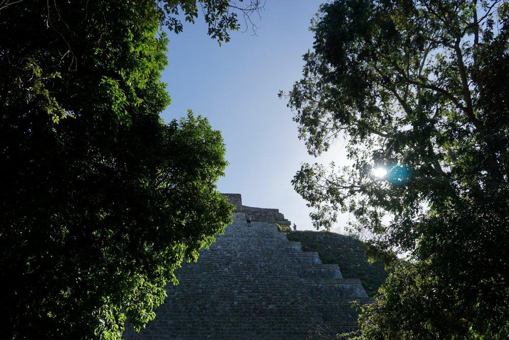 Die Ruinen von Uxmal