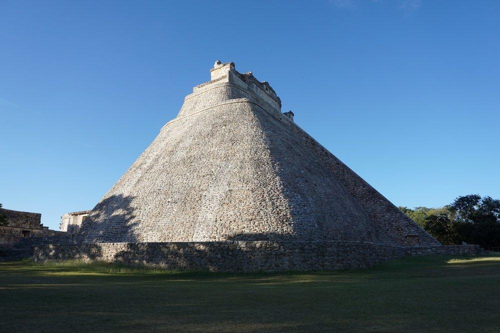 Die Pyramiden von Uxmal