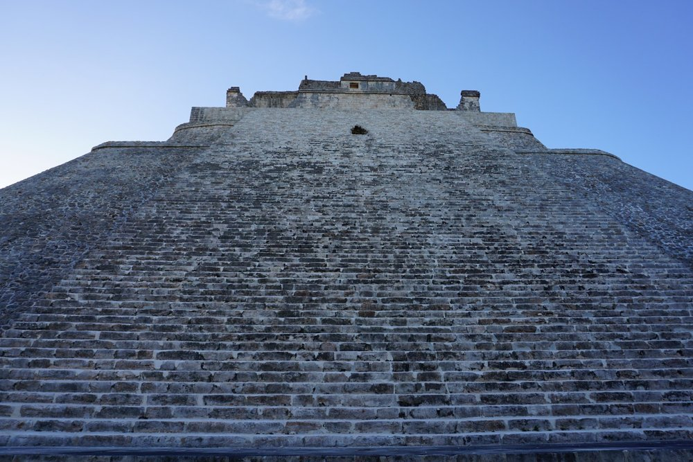 Die Pyramide von Uxmal