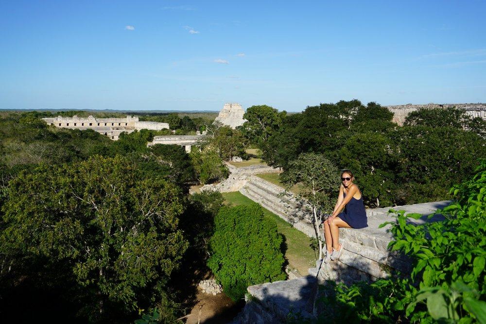 Maya Ruinen in Mexiko
