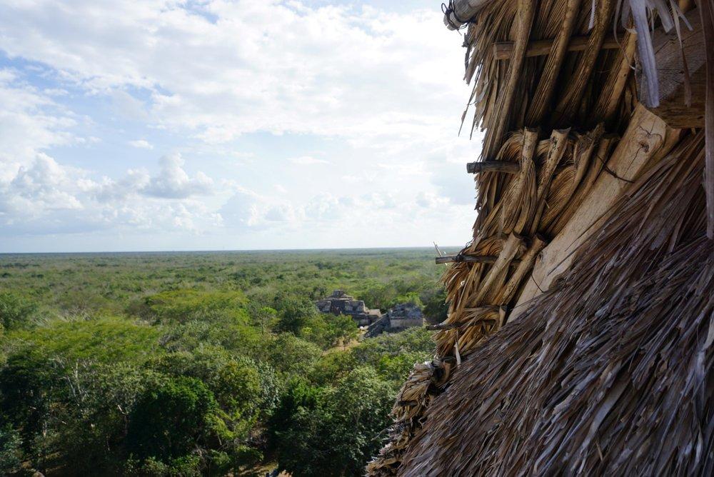 Die Ruinen von Ek Balam